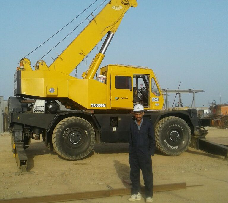 Tadano 35t RT crane [code: 231]