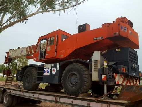Tadano 35t RT Crane